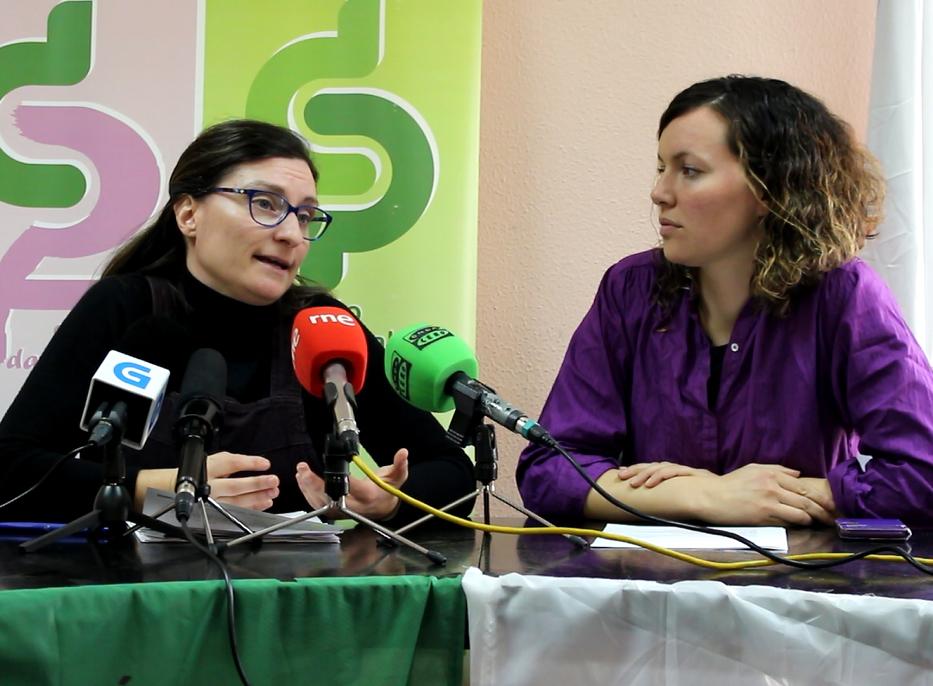Maria Ferreiro e Sonia Vidal