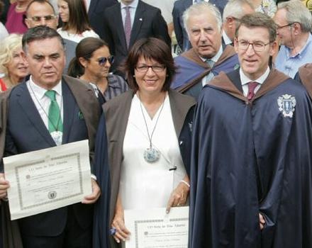 Feijóo e Horacio Gómez