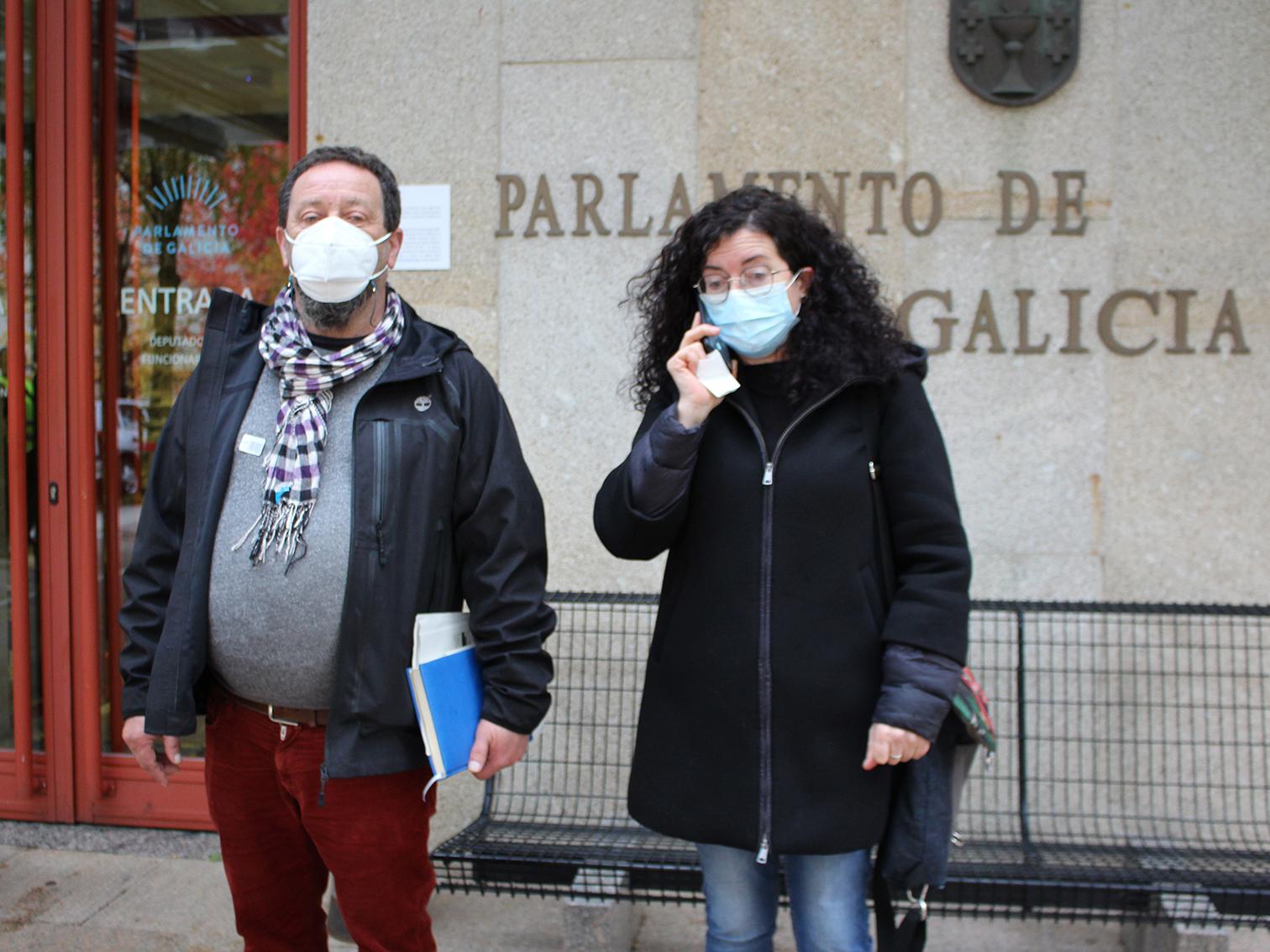 Cendán e Ana Rodríguez