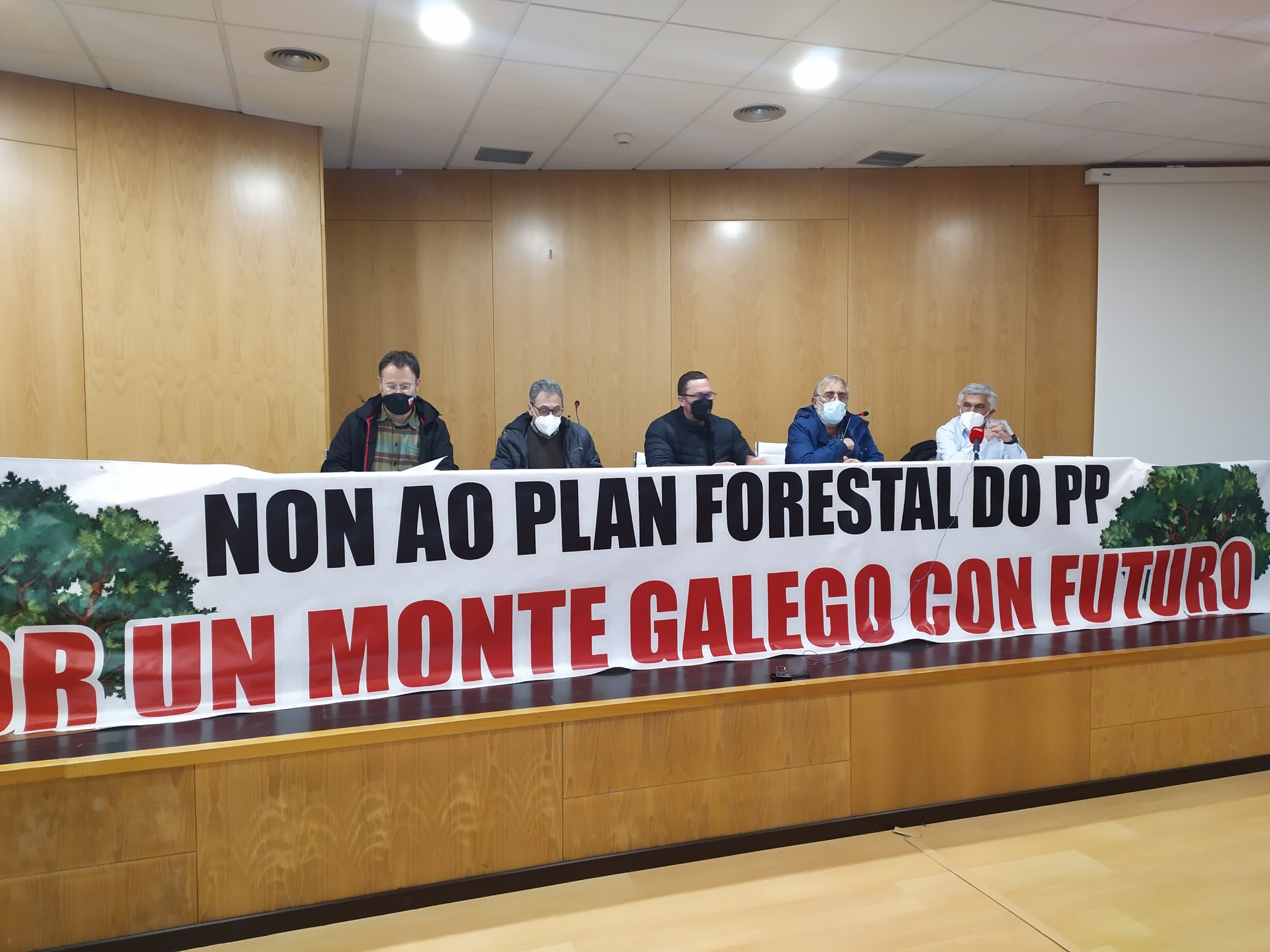 Fronte contra o Plan Forestal
