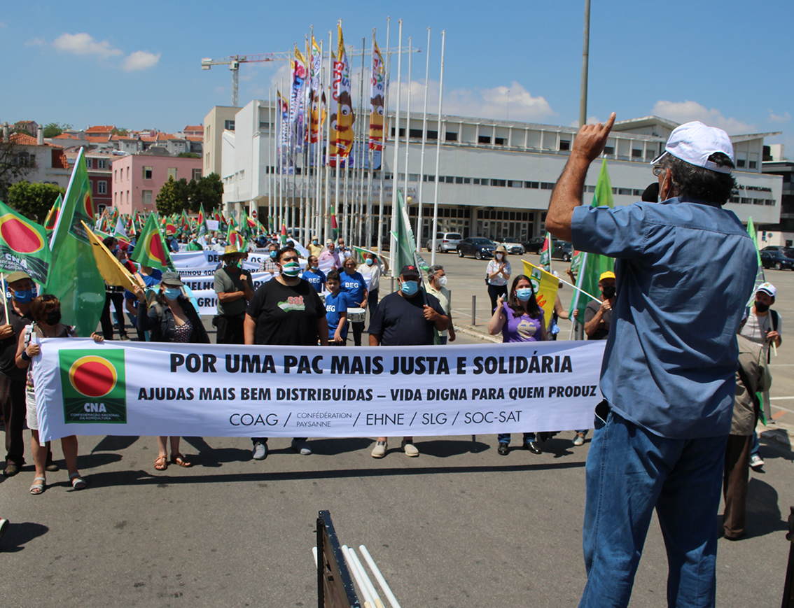 Manifestación PAC Lisboa