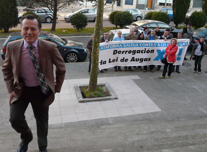Protestas contra a Lei de Augas